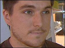 Jonny Oag, owner of Juiced Up,