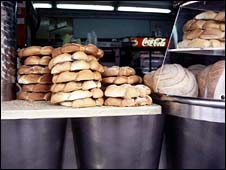 Bagel shop in Old Jaffa.