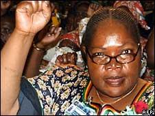 Zimbabwe's Vice-President Joyce Mujuru