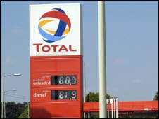 Total petrol station