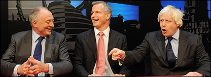 Ken Livingstone, Brian Paddick and Boris Johnson are all candidates