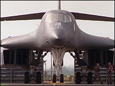 B-1 bomber (file pic)