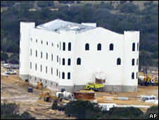 Church built at the FLDS's compound in Texas. File photo