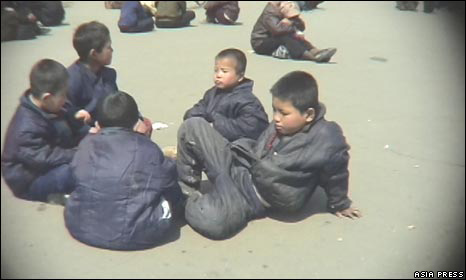 North Korean children (image: Asia Press)