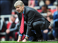 Arsenal boss Arsene Wenger had a frustrating afternoon