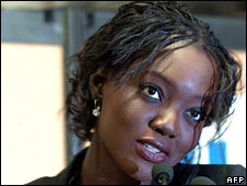 Rama Yade, file picture from 22 June 2007