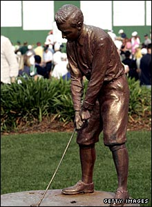 The Bobby Jones statue