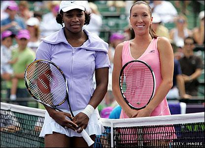 Serena Williams and Jelena Jankovic