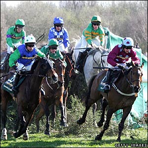 The second Canal Turn at the Grand National