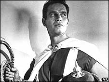 Charlton Heston as Ben Hur