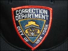 Correction department badge
