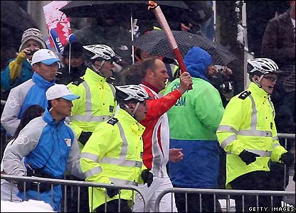 Champion rower Sir Steve Redgrave