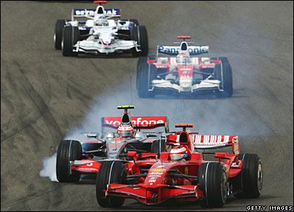 Heikki Kovalainen, Kimi Raikkonen