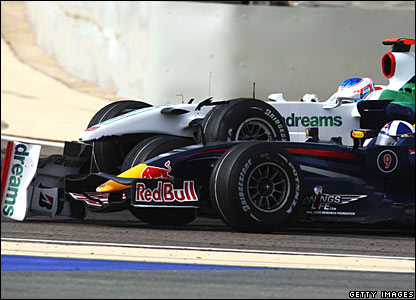 Jensen Button, David Coulthard