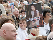 Betancourt solidarity march in Paris - 6/4/2008