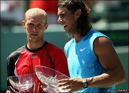 Nikolay Davydenko and Rafael Nadal
