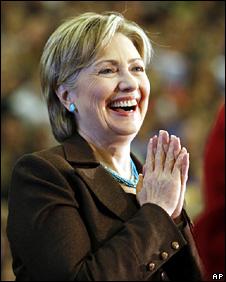 Hillar Clinton in Oregon (5 April 2008)