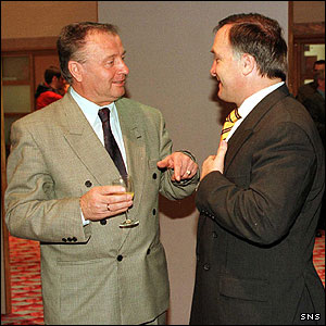 Jo Venglos and Dick Advocaat