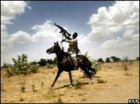Combatiente Janjaweed