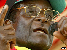 Robert Mugabe (5 March 2008)