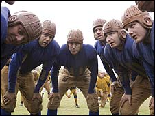 George Clooney (centre) in Leatherheads