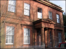 Moat Brae house in Dumfries