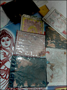 Dwarika Prasad's documents destroyed by termites (Pic: Prashant Ravi)