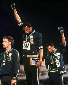Black power salute in Mexico 68