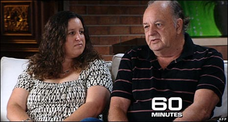 John (R) and Jenny Deaves on 60 Minutes