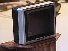 A mini television set