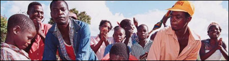 Zimbabwe liberation war veterans in March 2000