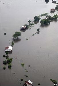 Inundación en Ecuador