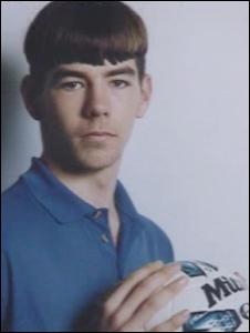 Joe Ledley as a schoolboy