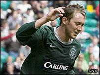 Celtic midfielder Aiden McGeady