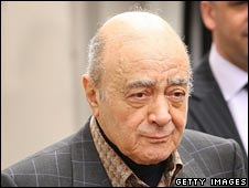 Mohamed Al Fayed leaves the High Court