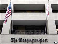 The Washington Post's offices
