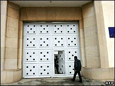 An entrance to the Kenitra prison (image from February 2007)