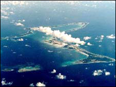 military base on Diego Garcia
