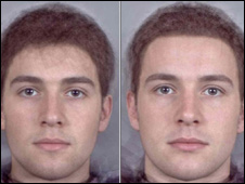 Male faces
