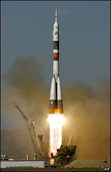 Rocket launch. Image: AP