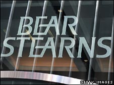 Office of US investment bank Bear Stearns