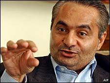 Hossein Mousavian, a former Iranian nuclear negotiator