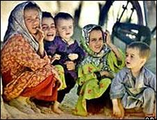 Kabul street children