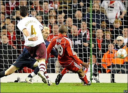 Babel scores Liverpool's fourth