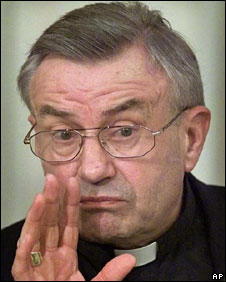 Cardinal Karl Lehmann, file picture from 2000