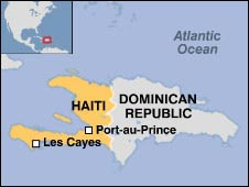 BBC NEWS Americas Haiti leader demands end to riots