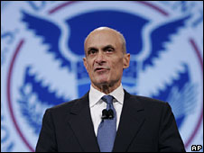 Michael Chertoff speaks at the RSA Conference, San Francisco, 8 April 2008