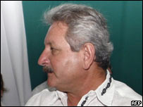 El prefecto de Santa Cruz, Rubén Costas.