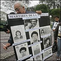 Víctimas de la matanza de la Universidad de la Cantuta