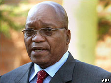 Jacob Zuma (file picture)